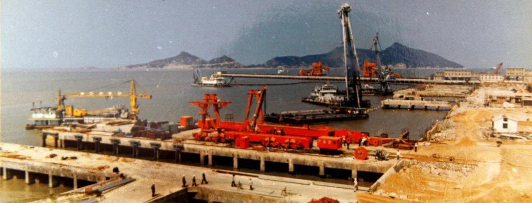 80年代的连云港港口