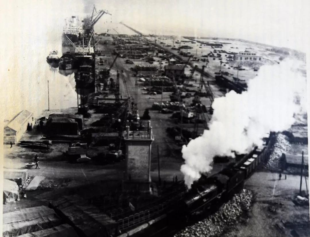 40年代的连云港港口