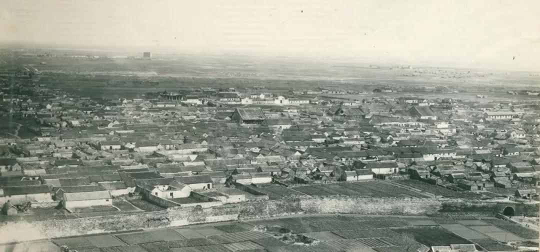 1956年海州古城全景