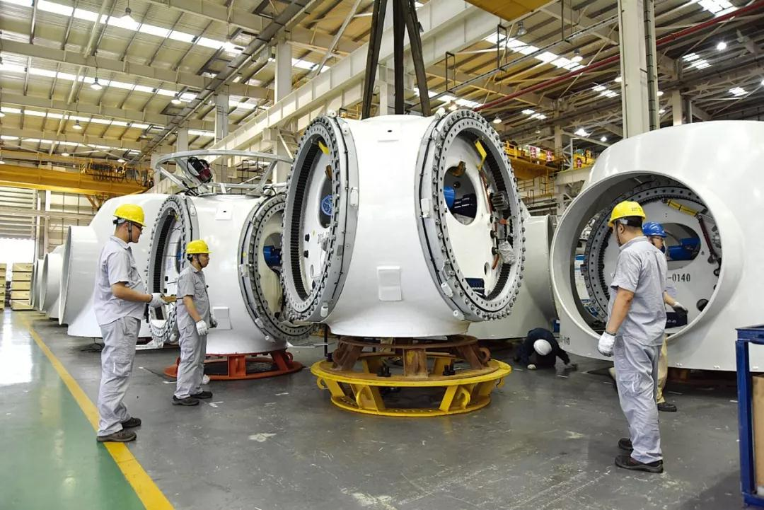 现代化的工业生产