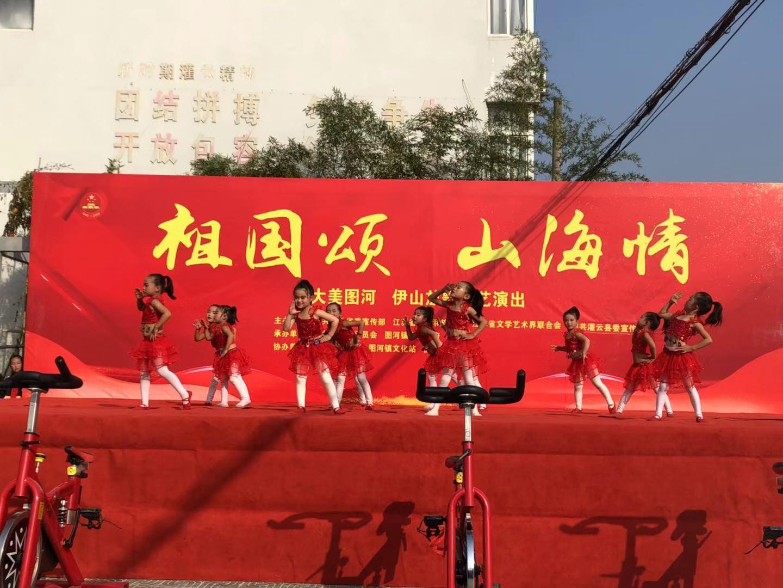 灌云县广场文化活动异彩纷呈