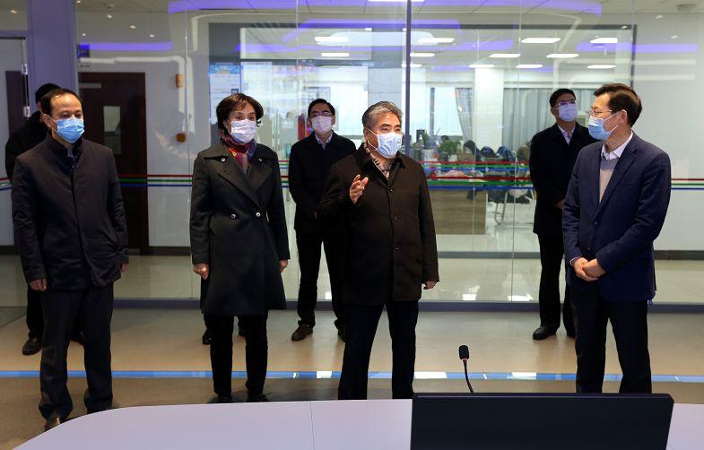 项雪龙同志调研疫情防控宣传和舆论引导工作